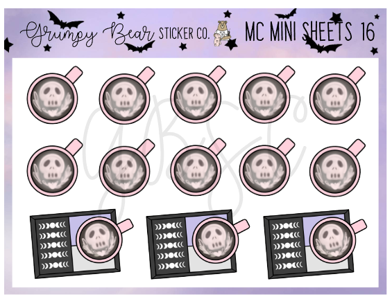 MC-16-Moon Child Collection Mini Sheet