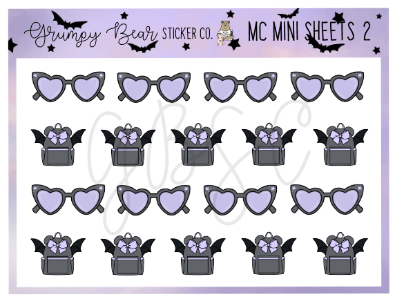 MC-2-Moon Child Collection Mini Sheet