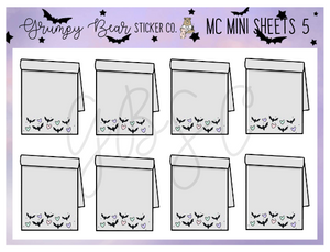 MC-5-Moon Child Collection Mini Sheet