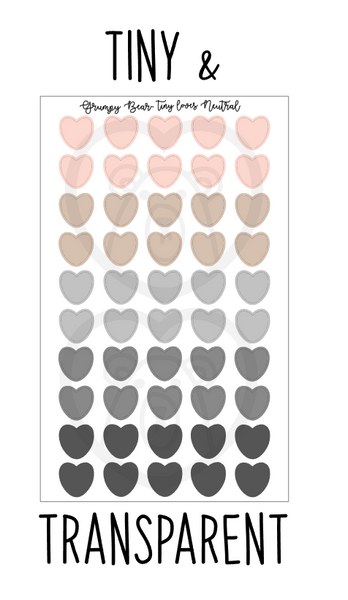 Tiny Loves- Neutral Colors