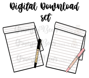Digital Item-Notepad set