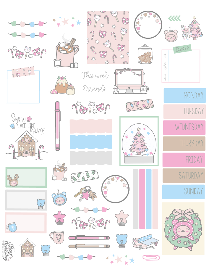 November 2020 Digital Journaling Kit