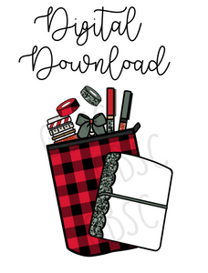 Digital Download-BP planner pouch
