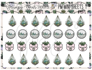 PM-1-Plant Mom Collection Mini Sheet