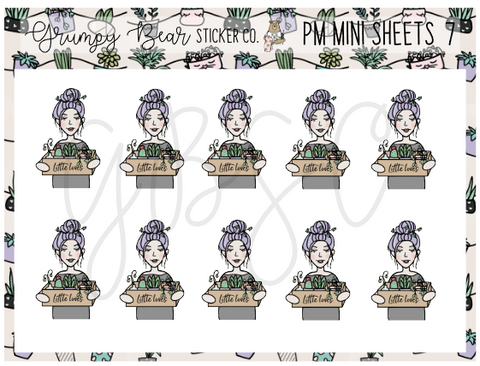 PM-7-Plant Mom Collection Mini Sheet