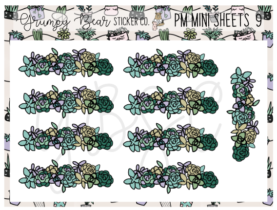 PM-9-Plant Mom Collection Mini Sheet
