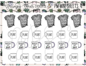 PM-4-Plant Mom Collection Mini Sheet