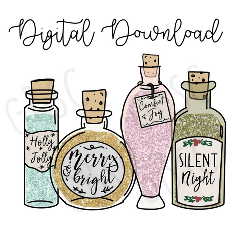 Digital Download-Holiday potions