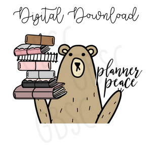 Digital Download-Grumpy has planner peace