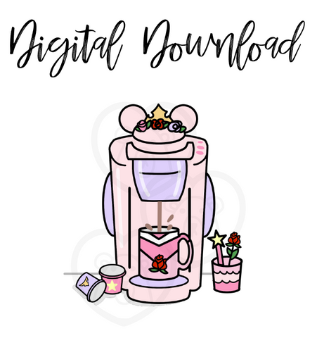 Digital Download-Princess Coffee Maker
