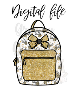 Digital Download-Snitch backpack