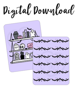 Digital Download-Spooky Cute Micro Notes Covers