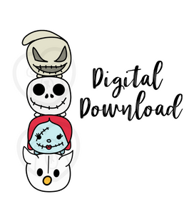 Digital Download-Cutie Tsums Stack