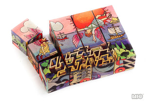 Greek Myth Puzzle Blocks