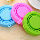 Portable Silicone Retractable Folding Water Bottle / Lota / Wash Cup
