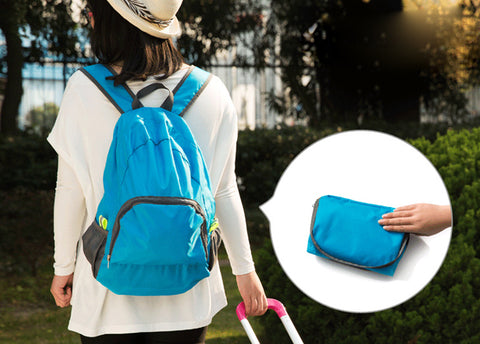 Lightweight Foldable Water-resistant Travel Backpack