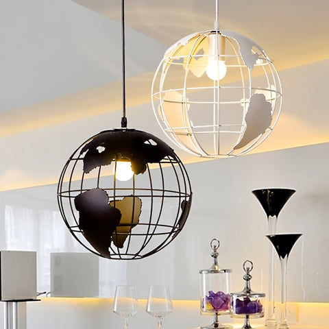 Earth Iron Pendant Lamp
