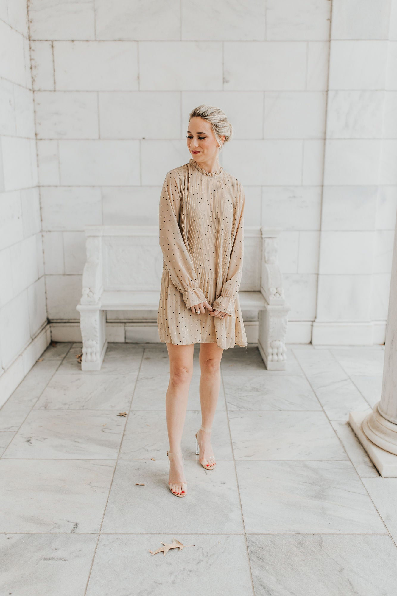 Scout Mini Dress - Beige