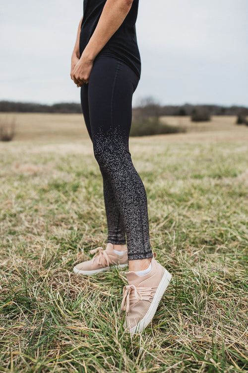 Molly Metallic Leggings - Copper