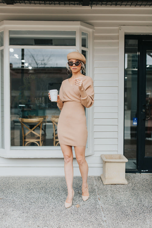 Blaire Bodice Sweater Dress
