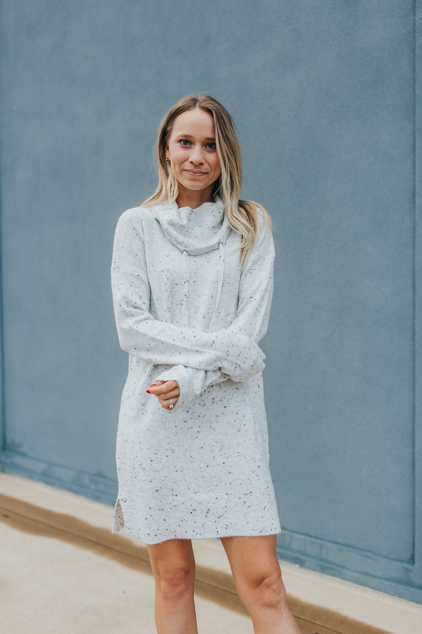 Samantha Speckled Sweater Dress