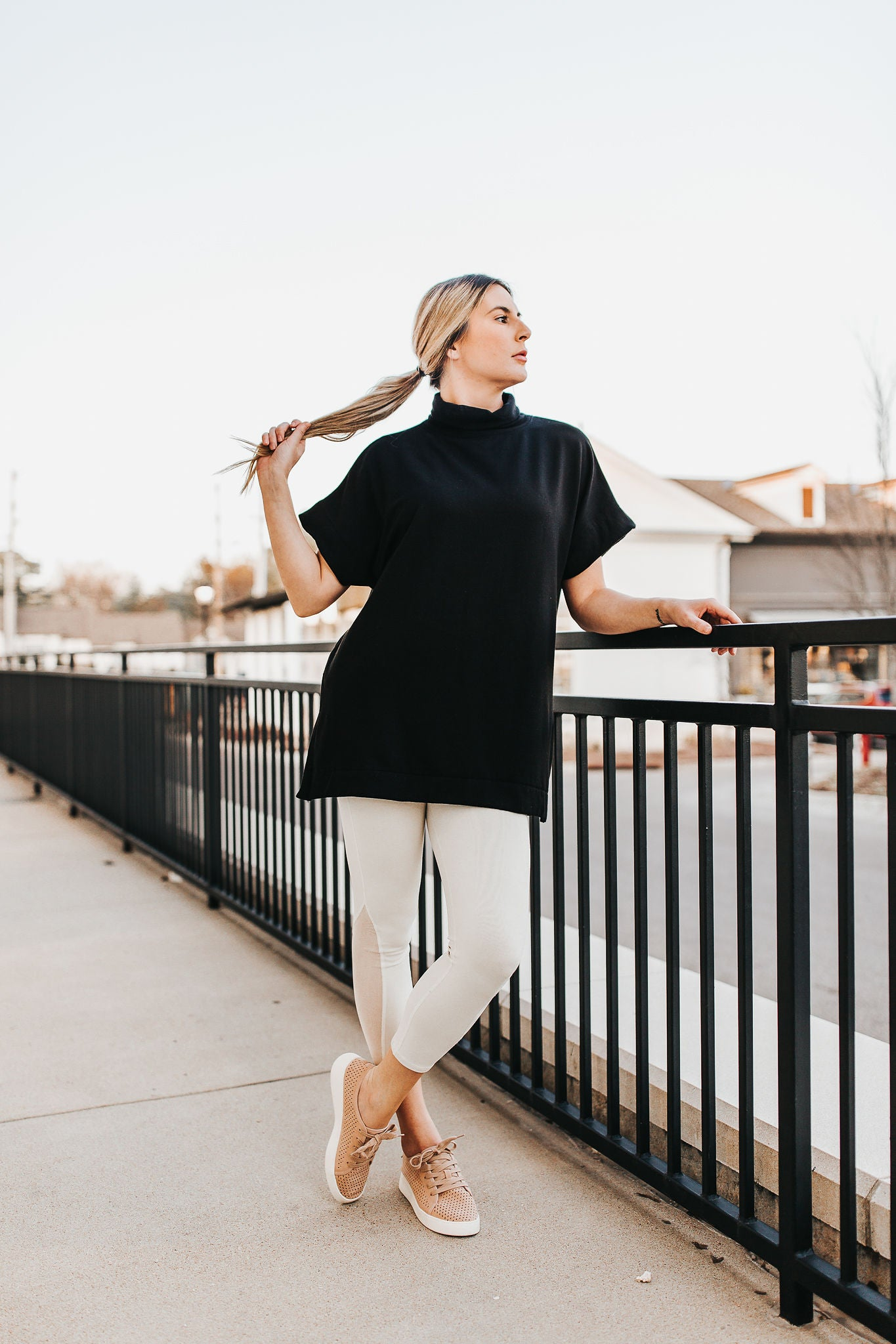 On The Run Tunic - Black