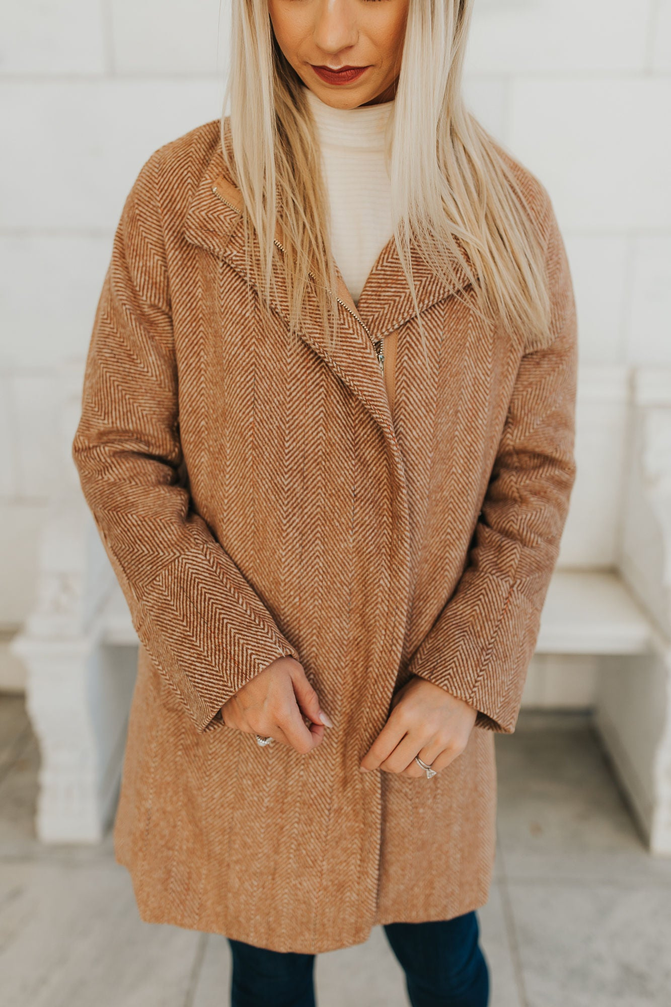 Grace Camel Coat