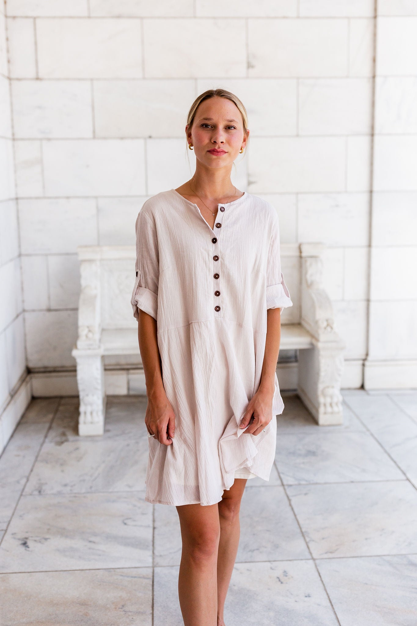 Savannah Linen Dress