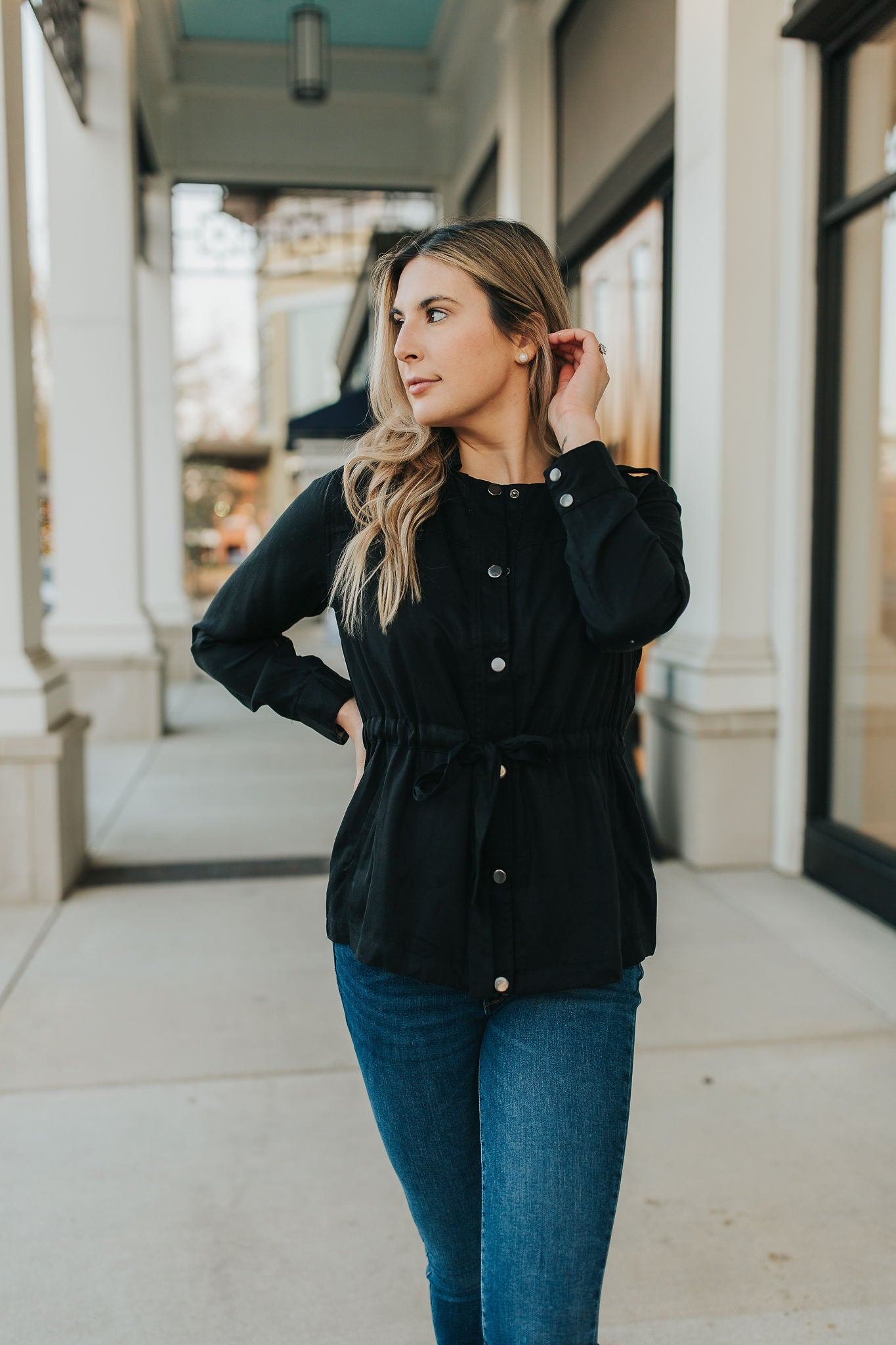 Catalina Belted Jacket