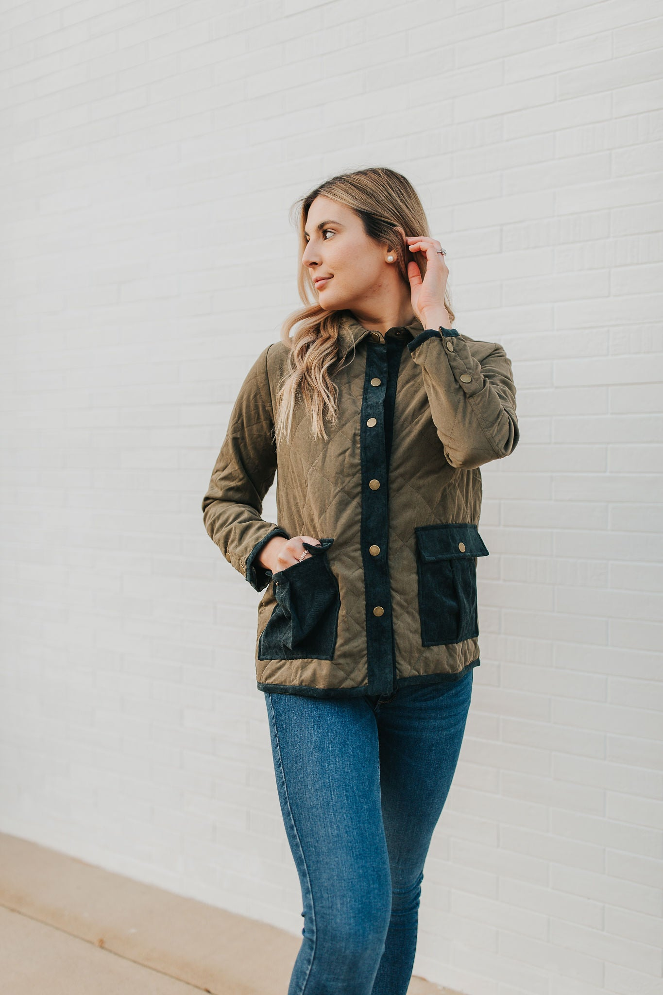 Quinn Quilted Jacket
