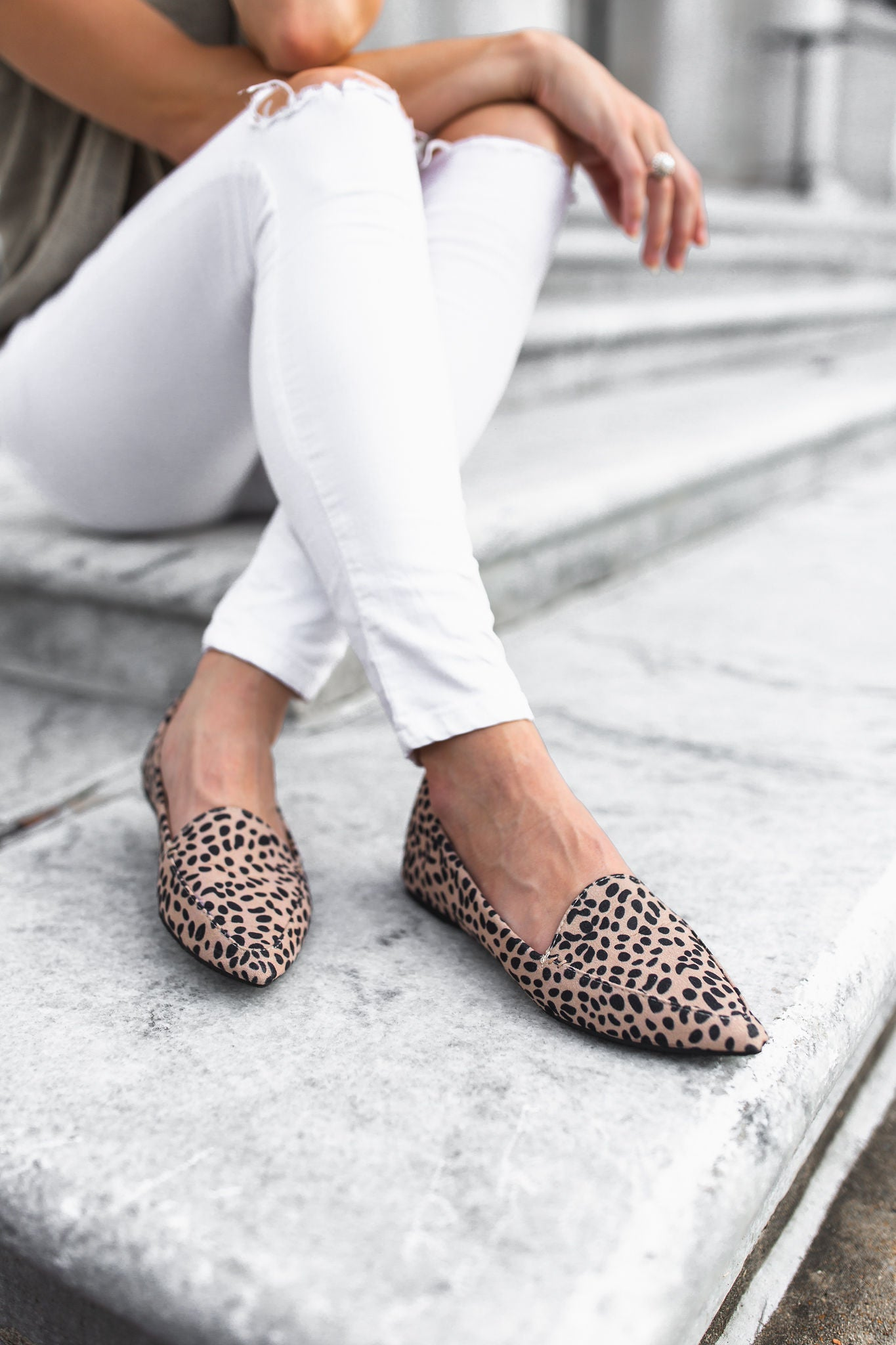 Nita Cheetah Loafers