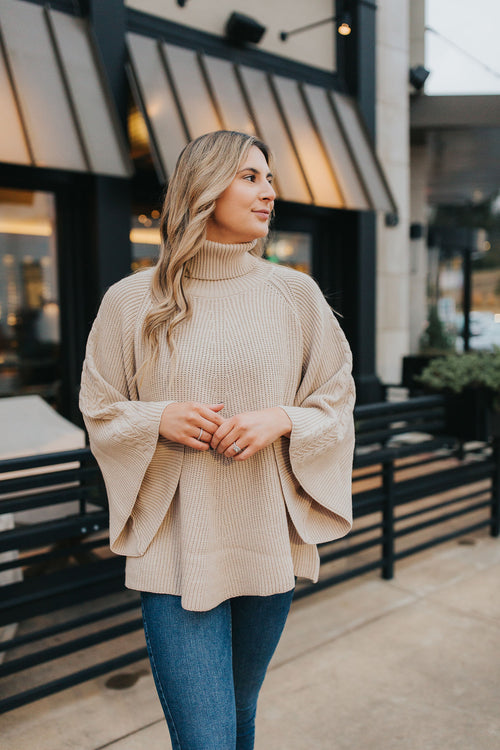 Sonnet Knit Turtleneck Sweater