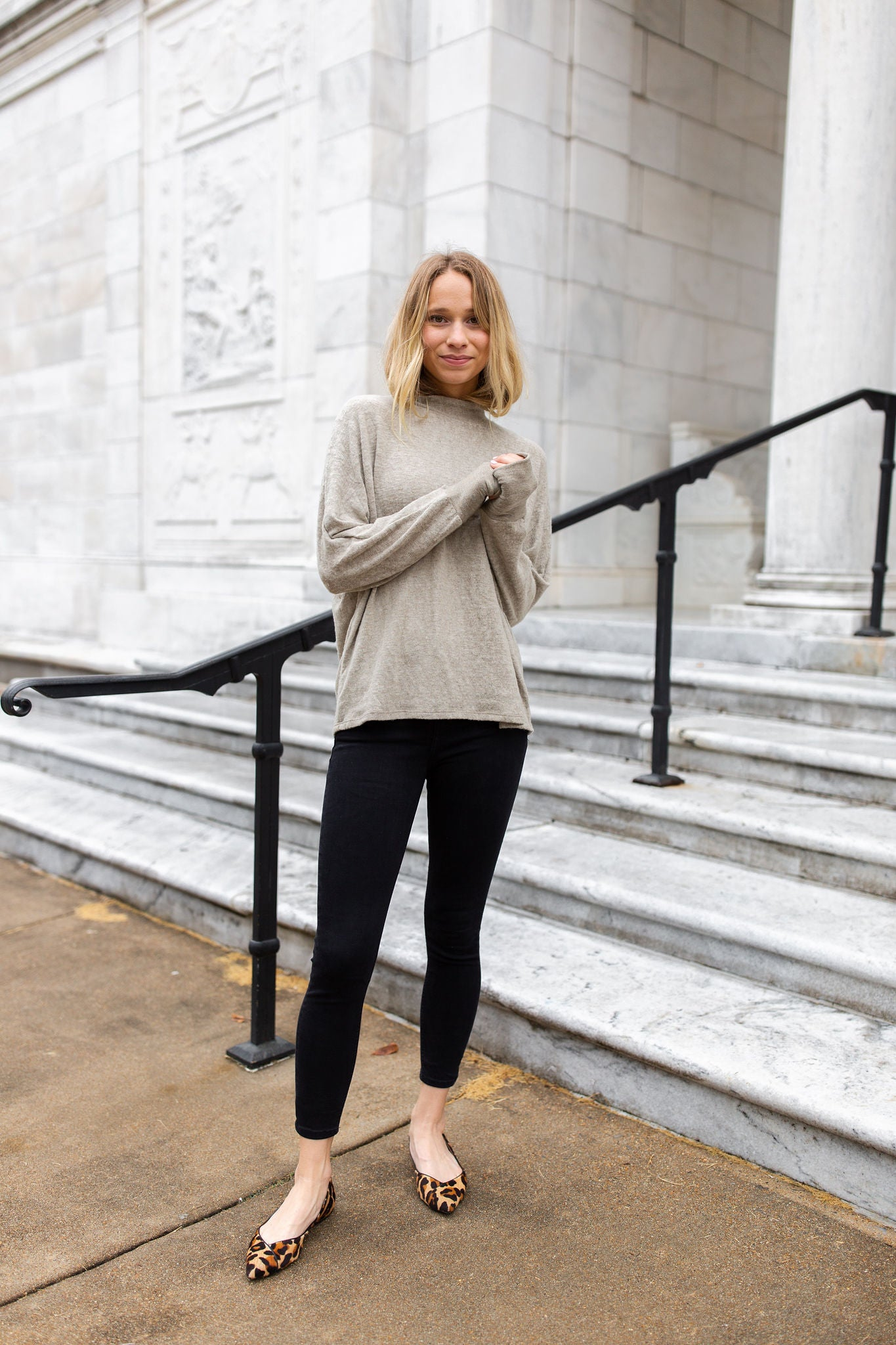 Greer Brushed Knit Top