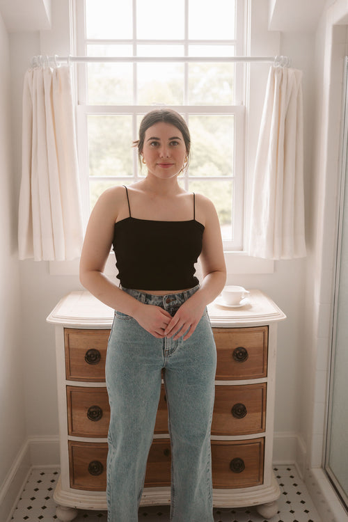 Cream Twist Earrings
