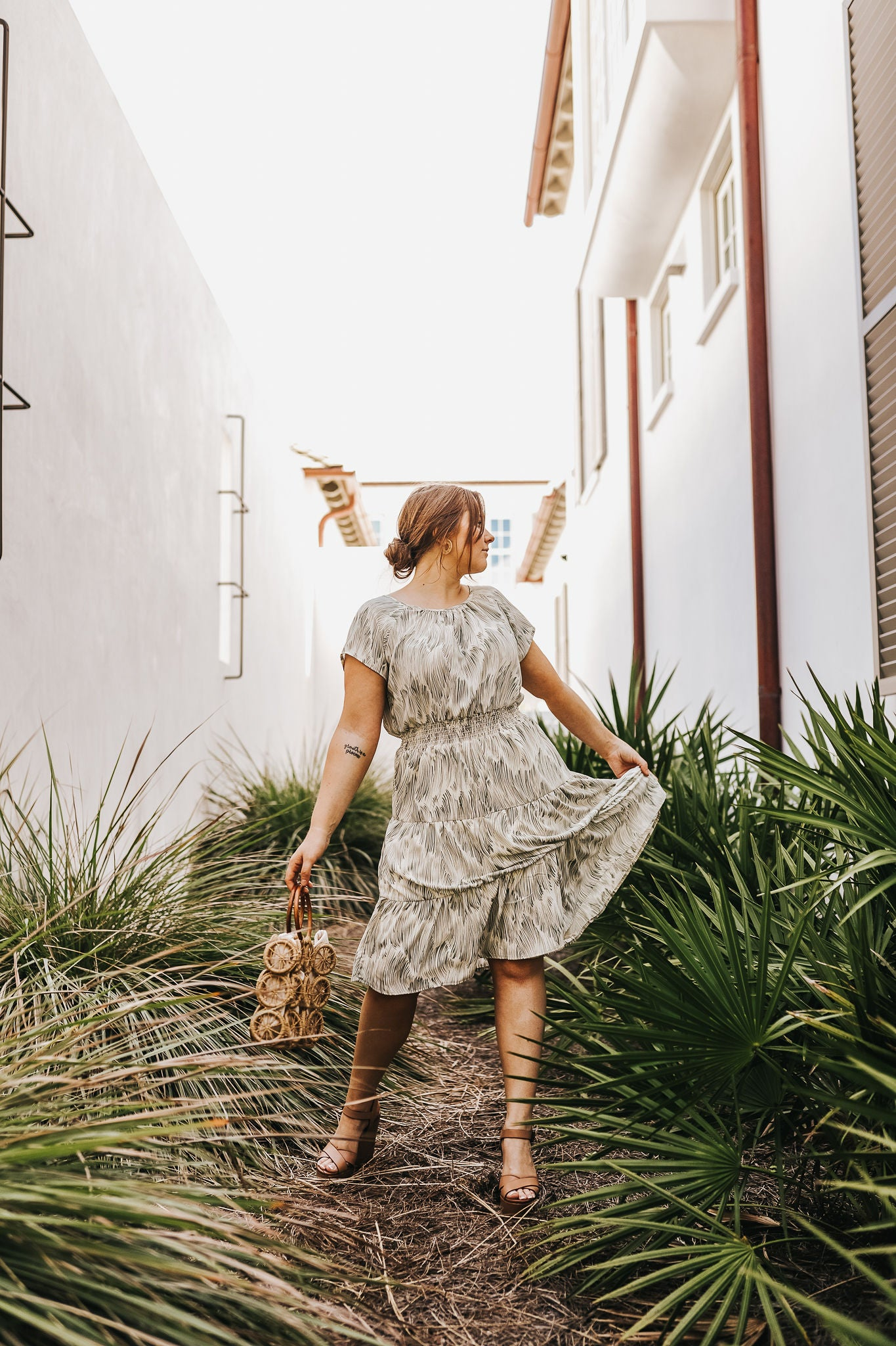 Breezing Through Midi Dress