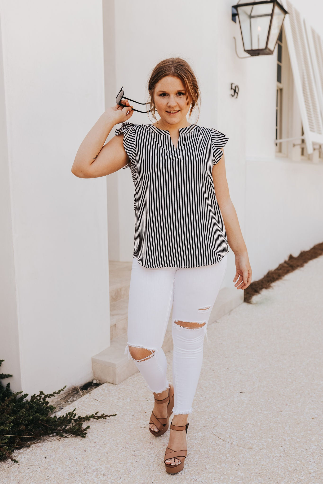 Holland Striped Blouse