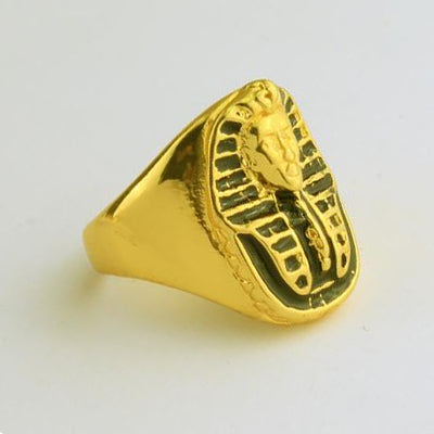 Gold Pharaoh Ring