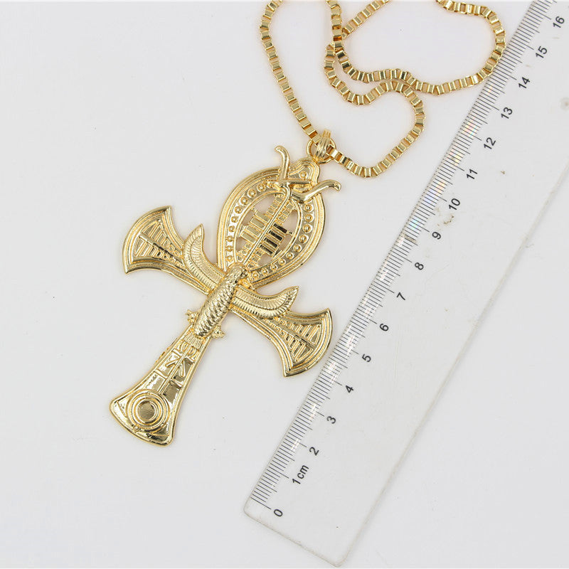 Large Egyptian Cross Pendant