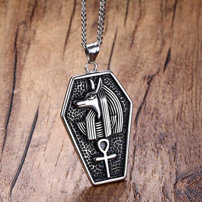Silver Anubis Necklace