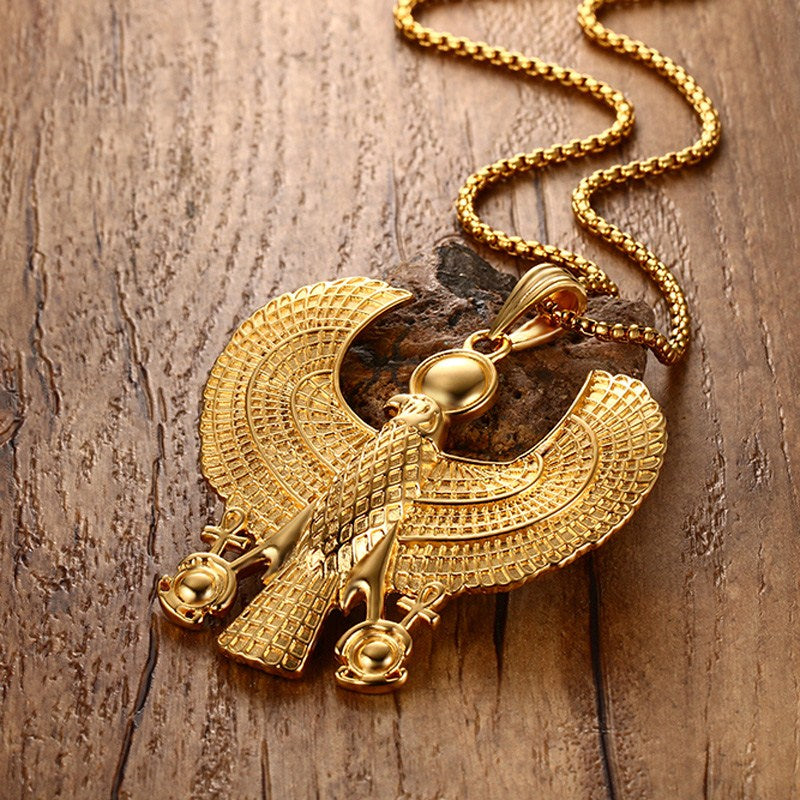 Gold Egyptian Necklace