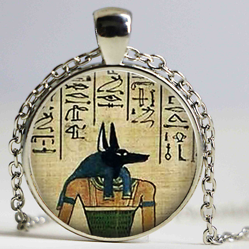 Anubis Jackal God Necklace