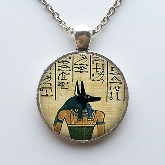 Anubis Pendant Necklace