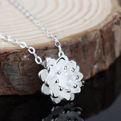 3D Egyptian Flower Pendant
