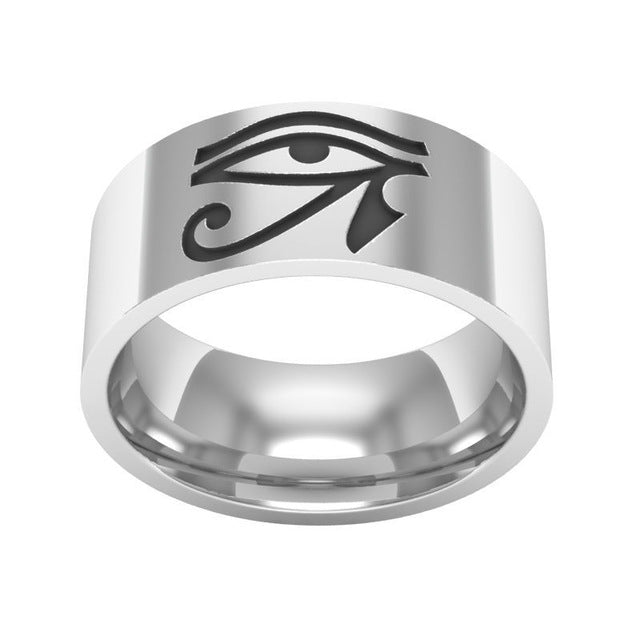 Eye of Horus Wedding Ring