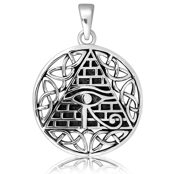 Sterling Silver Egyptian Celtic Pendant