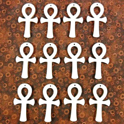 Wooden Ankh Necklaces