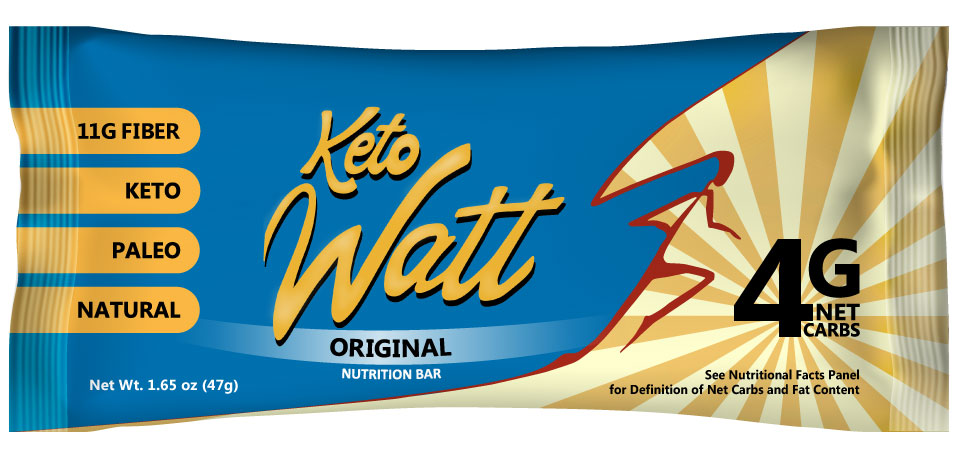 KetoWatt - 12 Original keto bars
