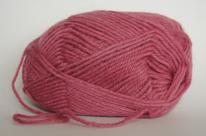 Rare Yarns Raspberry 8-ply