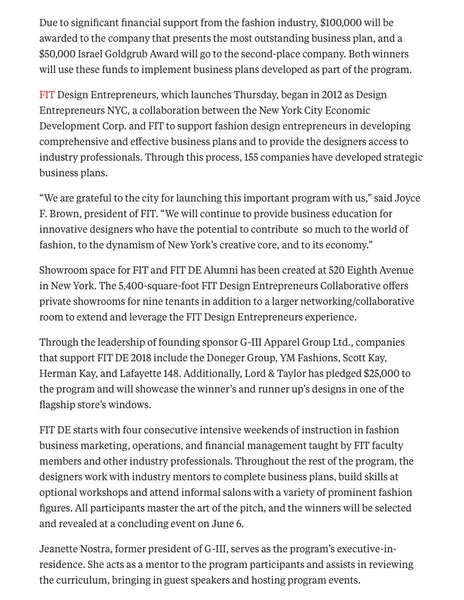 FIT Design Entrepreneurs - S/H KOH