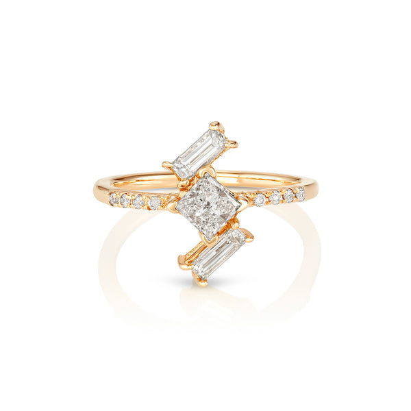 Yours only - Off Baguette Diamonds Ring
